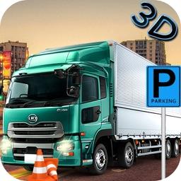 Parking sims - Modern shipper truck drive 3D