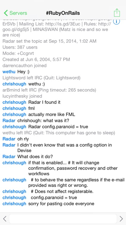 LimeChat - IRC Client screenshot-0