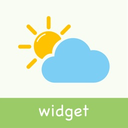 Thermometer - Weather Widget with clock