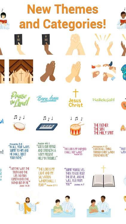 ChristianMoji - Christianity Emojis & Stickers screenshot-4