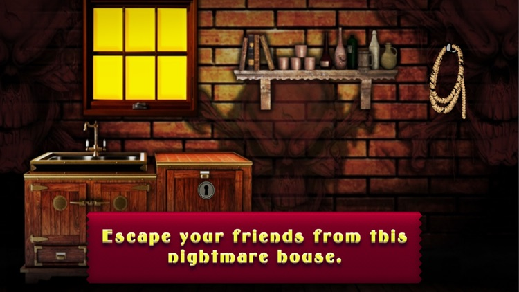 Night Mare House Escape Games screenshot-4
