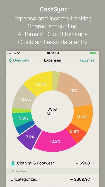CashSync - Expense tracking