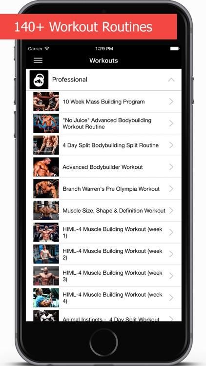 GymApp Pro Workout Log