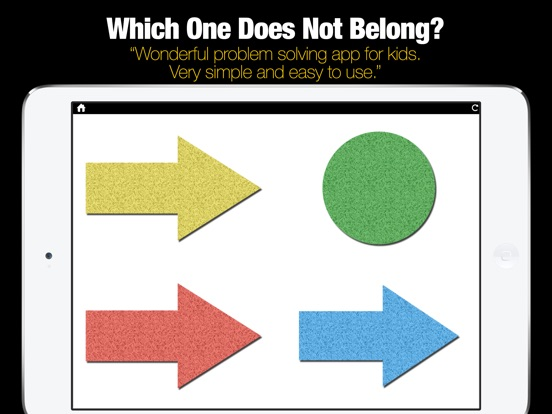 ABA – Problem Solving – What does not belong?-ipad-0