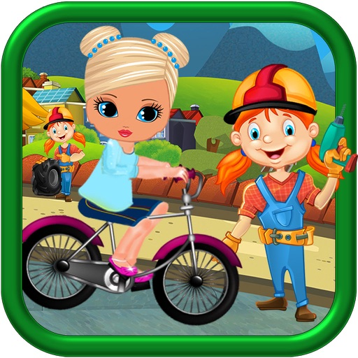 Kids Princes Bicycle Ride