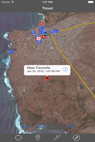 CAPE VERDE (SANTIAGO I) – GPS Travel Map Navigator screenshot 3