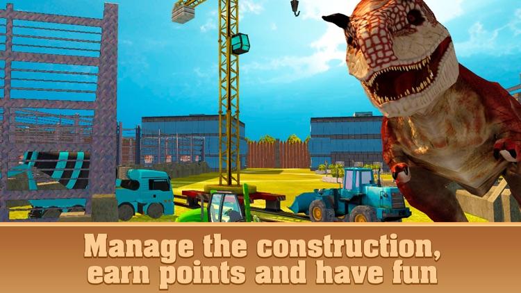 Dinosaur Park Building Simulator 3D screenshot-3