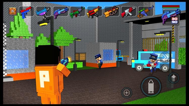 Alcatraz Prison Escape 3D Gangstar Pixel Break-out