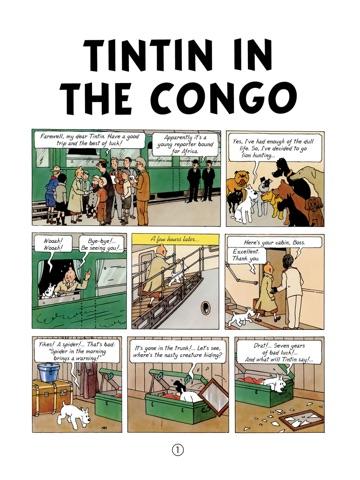 TINTIN IN THE CONGO PDF DOWNLOAD