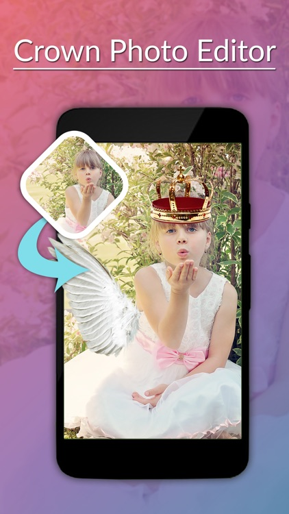 Crown Photo Editor -Crown Camera stickers