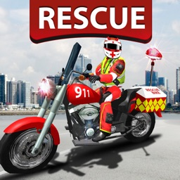911 Emergency Rescue Bike 2017