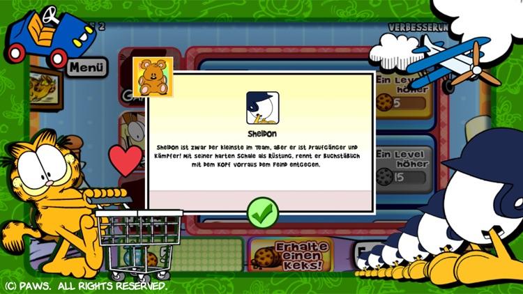 Garfields Verteidigung: Essens-Eindringlinge screenshot-4