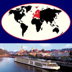 River Cruises Atlas - Europe