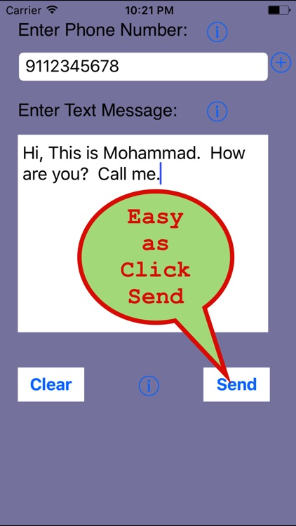 SMS Iran-Send Unlimited SMS to Iran Without Number screenshot-4