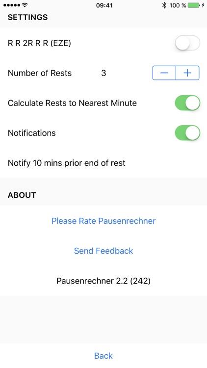 Pausenrechner - Cockpit Crew Rest Calculator