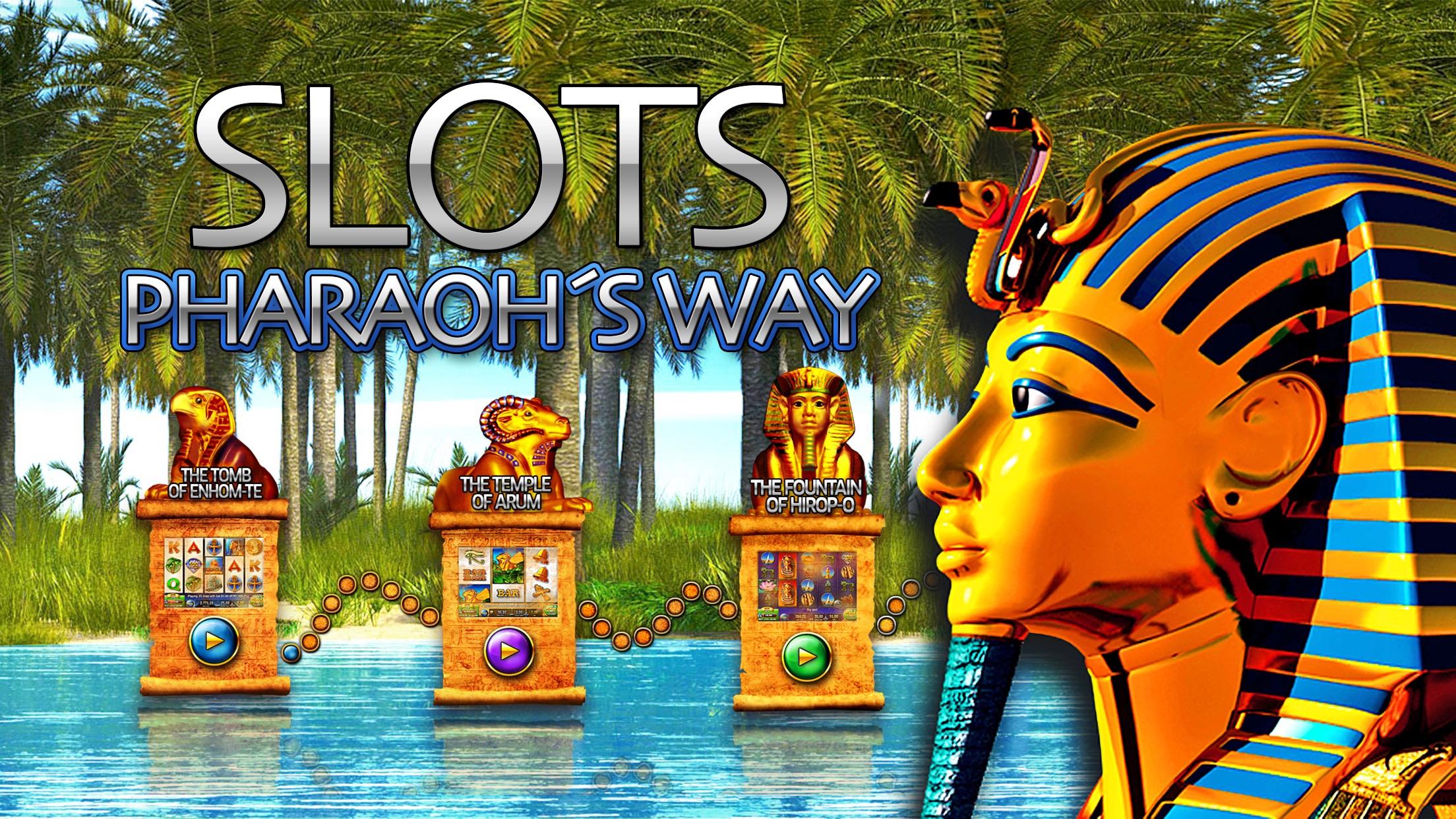 Slots - Pharaoh's Way Screenshot