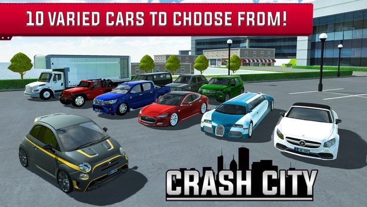 Crash City: Heavy Traffic Drive screenshot-4