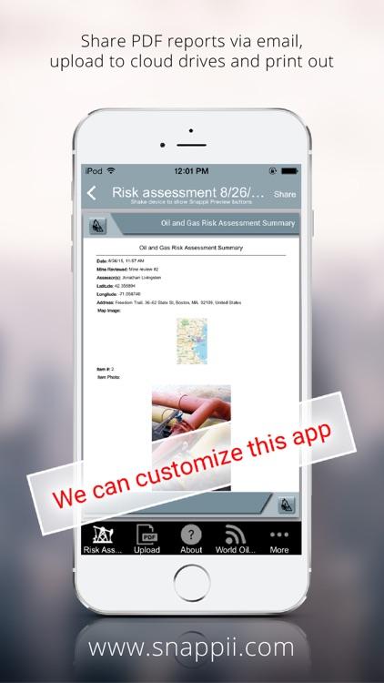 Oil and Gas Risk Assessment Summary App screenshot-4