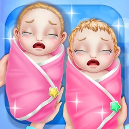 Newborn Twin Sisters Care - Fun Games