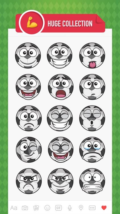 SoccerMoji - soccer football emoji & stickers 2017