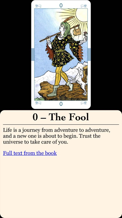 Universal Tarot screenshot-3