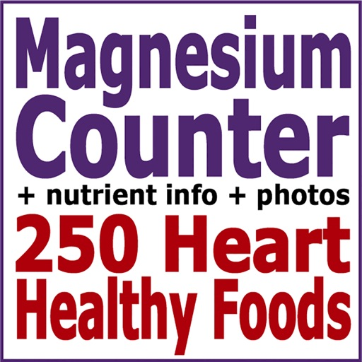 Magnesium Counter & Tracker for Healthy Food Diets