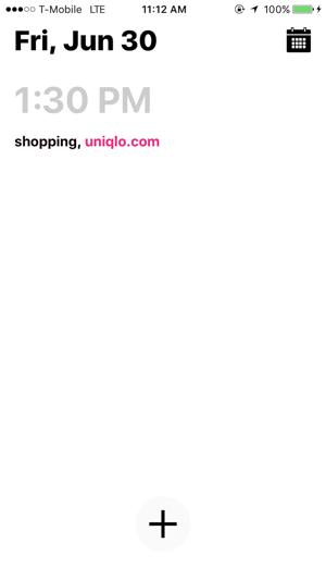 Done-List Screenshot