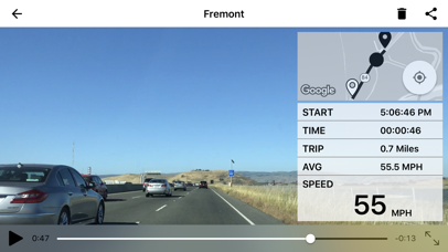 DashCam 2 Screenshot on iOS