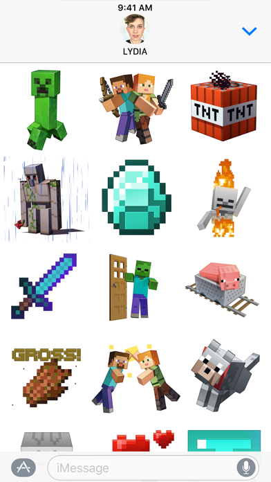 Minecraft Sticker Pack Screenshot