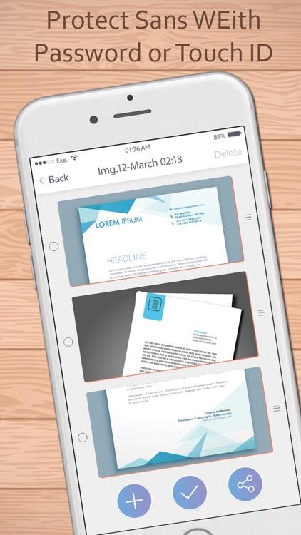 Scanner for me: PDF Scanner for easy office work screenshot-4