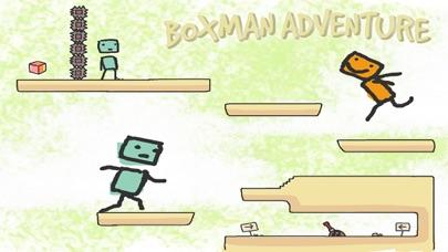 Boxman Adventure - Escape Puzzle Game screenshot one