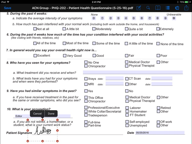 CT Forms Mobile 6.7 screenshot-4