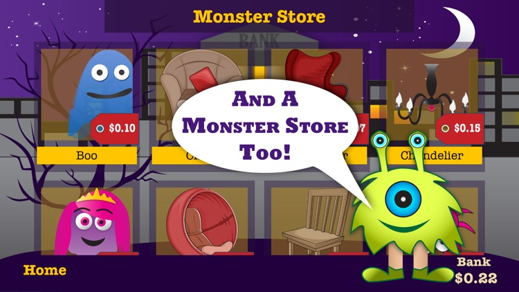 Coin Monsters – Money math game, counting coins screenshot-4
