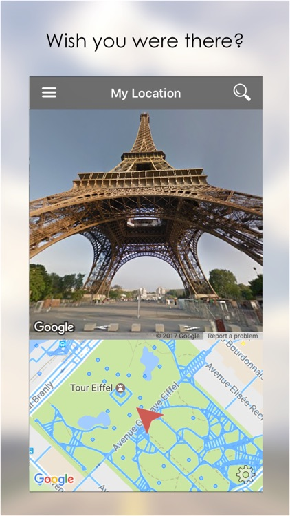 My Location - with Google Street View