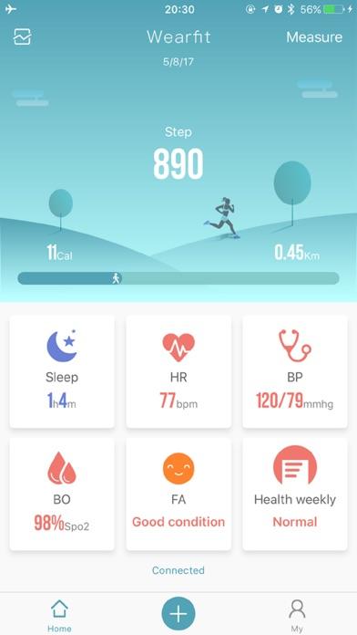 t l charger wearfit 2 0 pour iphone sur l 39 app store forme et sant. Black Bedroom Furniture Sets. Home Design Ideas