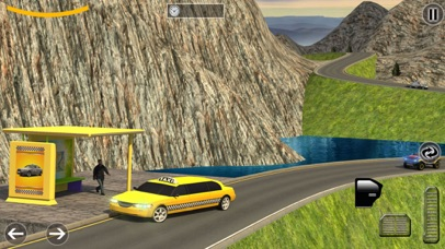 Limo Taxi Transport Sim - Pro Screenshot 4
