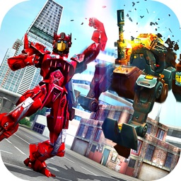 Monster Robot Hero City Battle