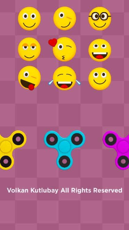 Fidget Spinner Wheel Toy - Stress Relief Emojis screenshot-4