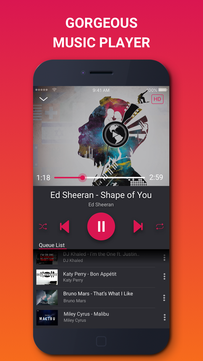 Music Tube - Music Video Play Screenshot