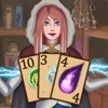 Witch Card Game Solitaire - Magical Pyramid