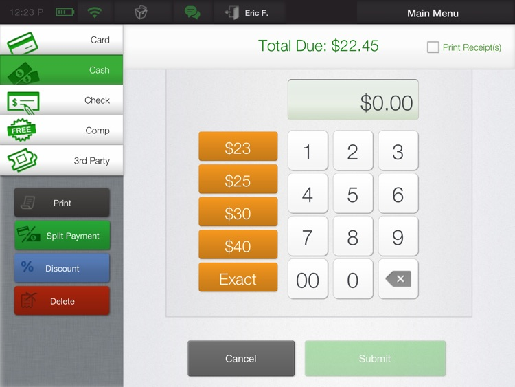 CAKE OrderPad - iPad POS screenshot-3