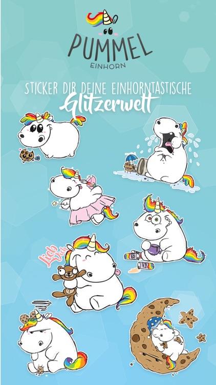 Pummeleinhorn Stickers