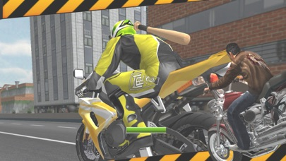 Bike Attack: Crazy Moto Racing screenshot two
