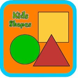 Kids Preschool Learning Shapes