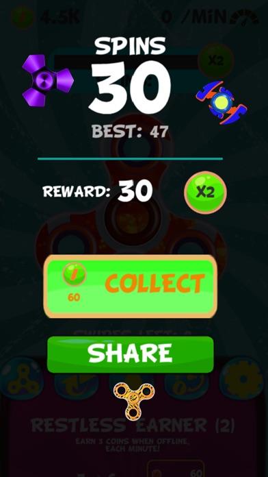 New Fidget - Finger spinner games screenshot four
