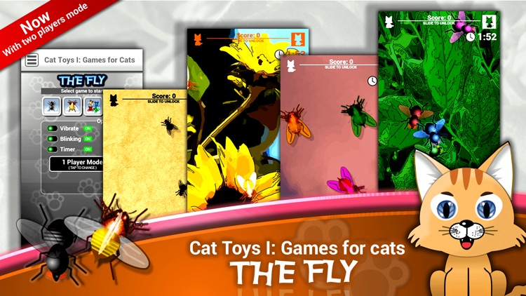 Cat Toys I: Games for Cats screenshot-3