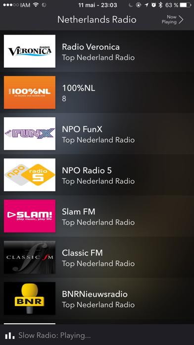 Netherlands Live Radio screenshot three