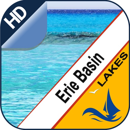 Erie Basin Lake offline nautical chart for boaters