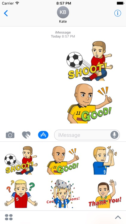BallMoji. Stickers by Design111