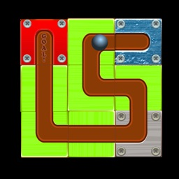 Ball Rolling Line - Switch Block Puzzle Game